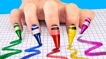 Трум Трум 14 лайфхаков для ногтей и маникюра