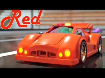 Игры Гонки и Трасса Учим цвета с паровозиком Максом