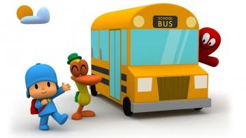 Мультики Покойо идёт в школу Развивающие мультфильмы для детей - Сборник