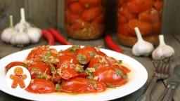 Ирина Хлебникова -  Маринованные помидоры с хреном мой фирменный рецепт