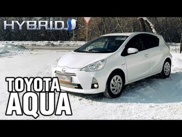 Тойота ездит почти БЕЗ БЕНЗИНА - Toyota AQUA, 2012