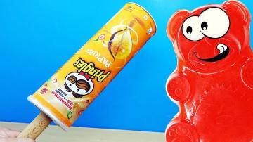 Желейный медведь Валера и чипсо конфета