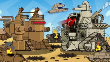 Смерть монстра - Мультики про танки