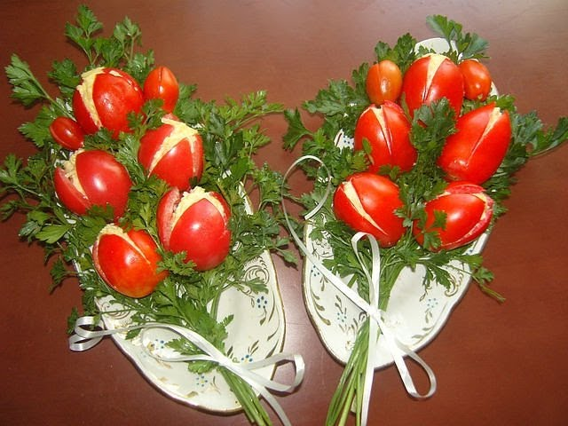 "Салат ""Тюльпан"" - Рецепт праздничного стола"