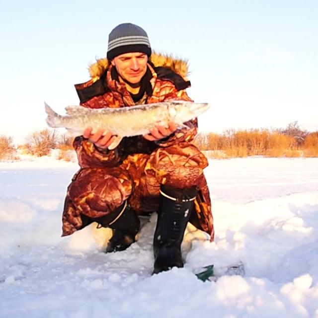 Рыбалка в Свердловской области зимой