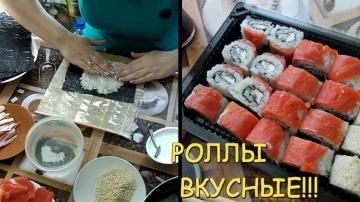 Экономно как приготовить роллы суши в дома самые вкусные роллы филадельфия рецепт роллов