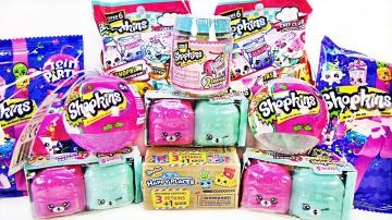 ШОПКИНС Mix! СЮРПРИЗЫ Shopkins 5, 6, 7 сезон игрушки мультик для детей Surprise unboxing