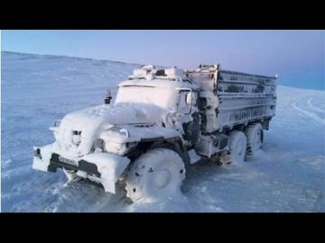 Дальнобойщики Дороги севера России Зимник 15