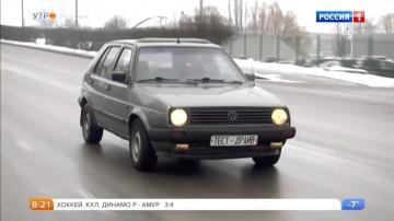 Volkswagen Golf 2 серии.Видео обзор.Тест драйв.