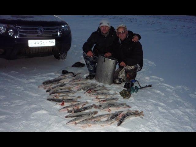 Рыбалка на щуку жерлицами зимой