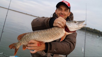 Ловля щуки на поролон | Рыбалка с Алексеем Евгеньичем  | Осенний спиннинг на реке
