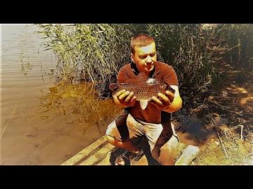Рыбалка с ночёвкой на реке.КАРАСИ ЛАПТИ АТАКУЮТ на КОРМАКИ