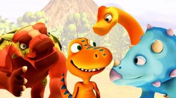 Развивающие мультики про Поезд Динозавров. Бадди встречает друзей!