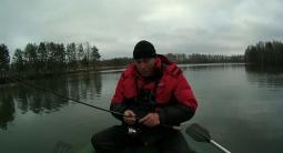 Ловля щуки поздней осенью - Закрытие сезона открытой воды 24 11 15 | Простая рыбалка