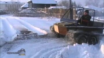 Самодельный гусеничный вездеход России
