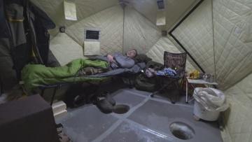 ОДИН НА ЛЬДУ рыбалка с домашним комфортом 2020 ВЫЕЗД 2