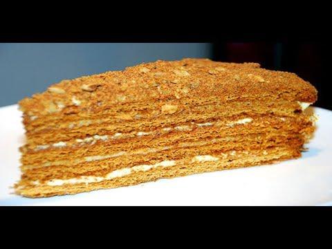 Наполеон Торт    Рецепт с заварным кремом самый вкусный
