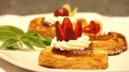 Слоёные ватрушки с яблоками - Рецепт Бабушки Эммы