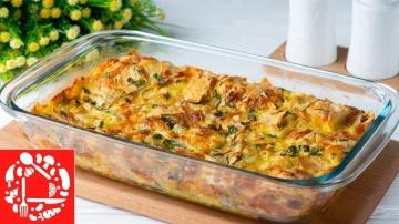 Пирог из тонкого лаваша | Рецепт Оксаны Пашко