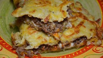 Картофельные драники с начинкой. Вкусный, сытный, простой и быстрый рецепт драников с фаршем и сыром