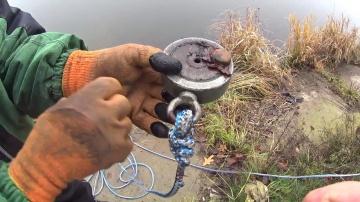 Рыбалка на поисковой магнит в черте города неожиданные находки   Дневник рыболова