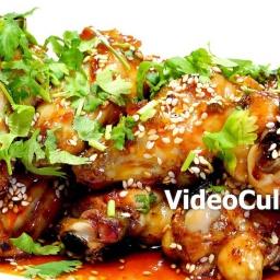 Куриные крылышки в медовом соусе - Рецепт от Бабушки Эммы