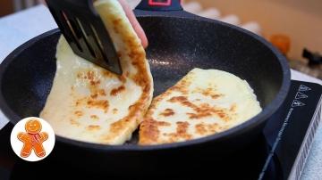 Вкуснейшие Сырные Лепешки с Начинкой за Полчаса Рецепт Ирины Хлебниковой