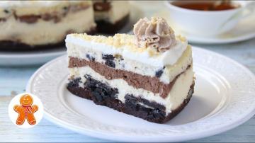 """Чизкейк """"Шоколадное Безумие"""" ✧ Chocolate Cheesecake Готовим с Ириной Хлебниковой"""