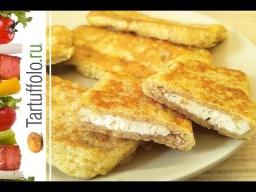 Алена Митрофанова -  Быстрые пирожки (бутерброды) на сковороде