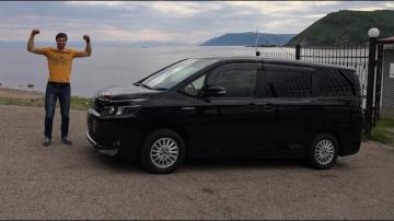 Обзор Toyota VoxyNoah 2015 Hybrid.  Полный Тест драйв