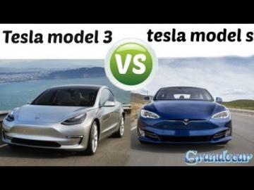 Новая Tesla model 3 vs tesla model s (сравнение) обзор + тест драйв новой теслы модель 3