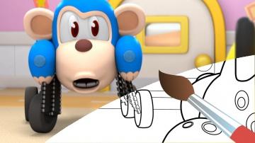 Упрямый пациент - Мультик - Раскраска с Врумиз. Учим цвета - развивающие видео для детей