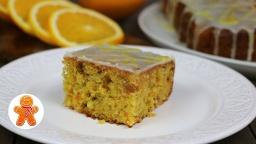 Морковный пирог с апельсиновой глазурью   Рецепт Ирины Хлебниковой