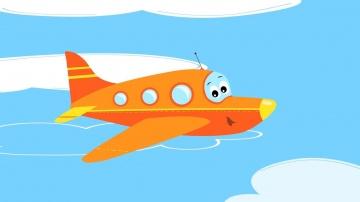 Песни для детей Самолет Веселые развивающие мультики и песенки про самолет вертолет ракету
