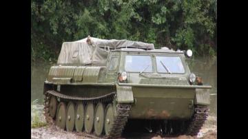 ДТ-30 витязь на бездорожье севера легендарные советские вездеходы атс 59