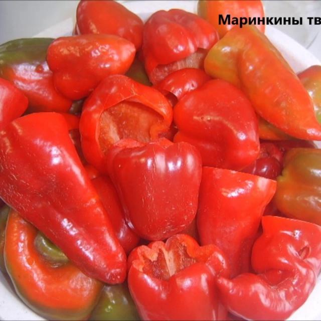 Болгарский перец на зиму | Рецепт Маринкины Творинки