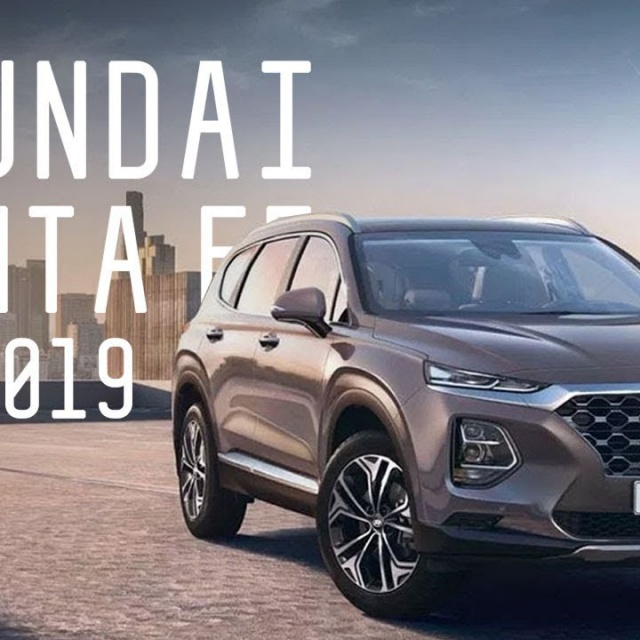 Hyundai santa fe 2019 | Большой тест драйв Женевский автосалон