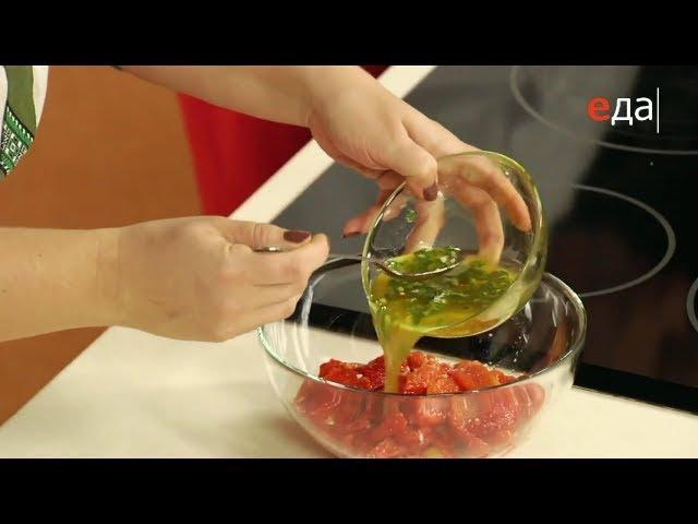 Чесночная заправка для печёного перца | Лазерсон Кулинарный ликбез