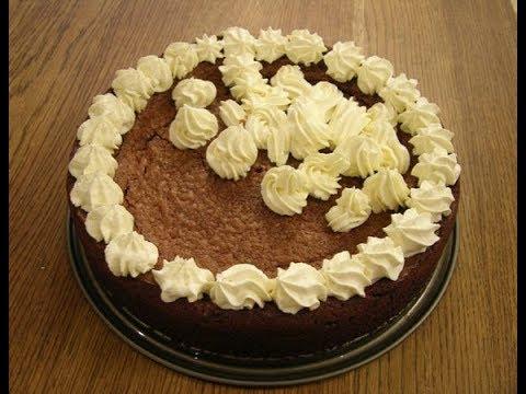 Юлия Высоцкая — Шоколадный торт с грецкими орехами