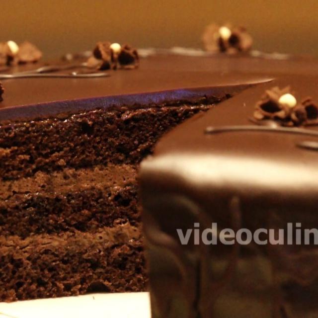 Бисквитный Торт Шоколадный - Рецепт Бабушки Эммы