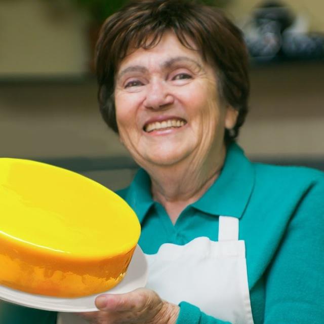 Торт Лимонный мусс | Рецепт от Бабушки Эммы