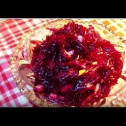 Полезный салат из свёклы от Светланы Черновой