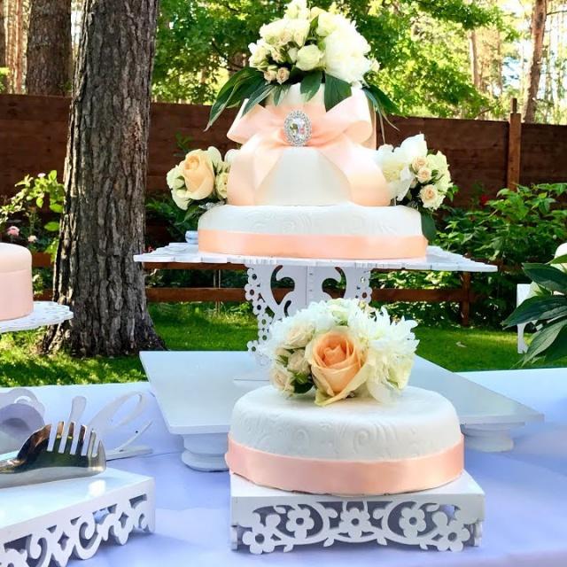 Свадебный Торт Как Сделать на 50 Человек   Рецепт Ольги Матвей