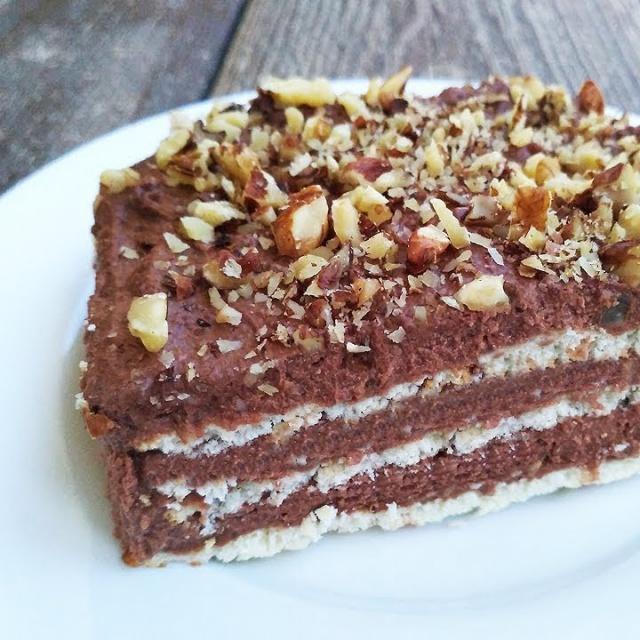 Алена Митрофанова - Нереально Вкусный Шоколадный торт Без Выпечки. Тает во рту!