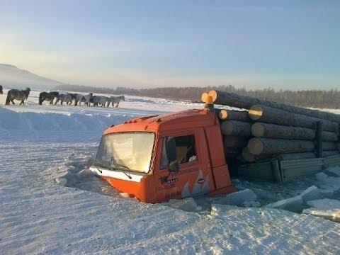 Русская техника по Бездорожью Грузовики на крайнем севере