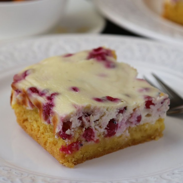 Творожный Пирог с Ягодами на Кукурузной Муке |Рецепт