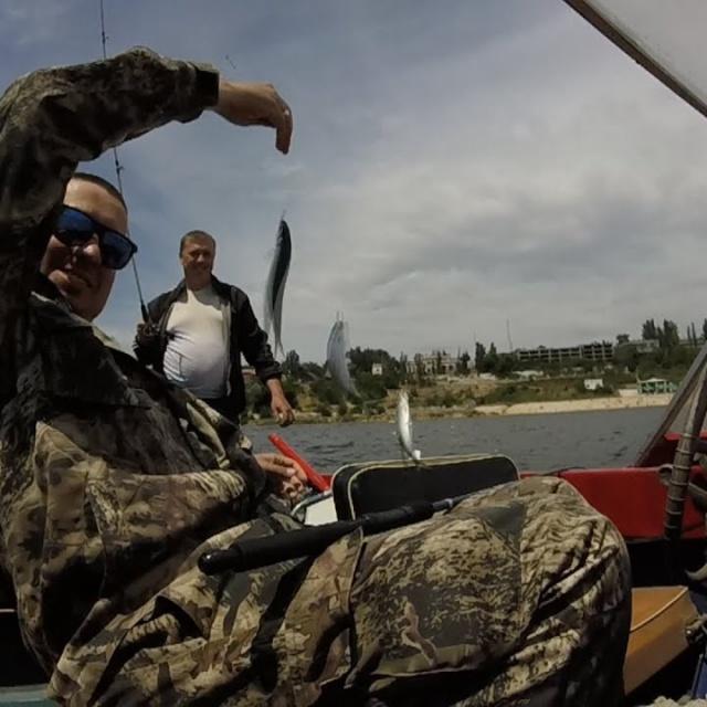 Рыбалка на пузанка /Ловля морской селедки в Днепре просто кайф/Херсон