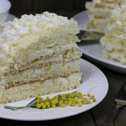 Торт Мимоза от Ирины Хлебниковой