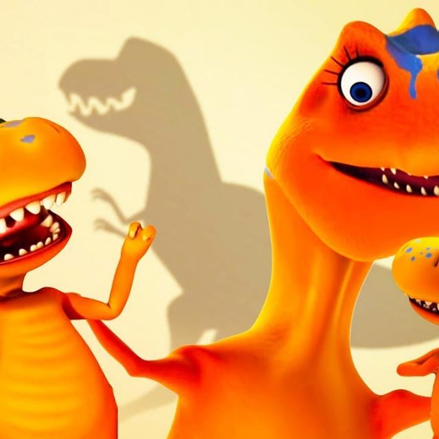 Мультфильмы Поезд Динозавров | Приключения Бадди и Тайни