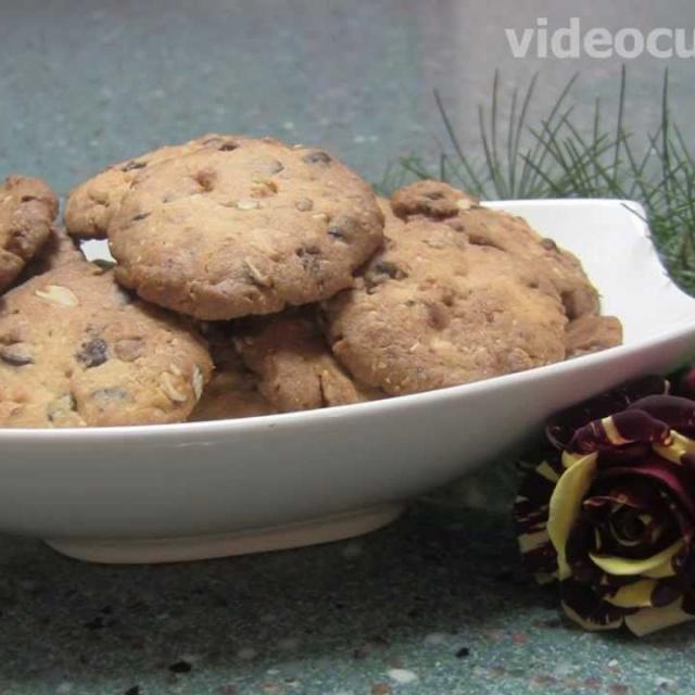 Шоколадное печенье  - Рецепт Бабушки Эммы
